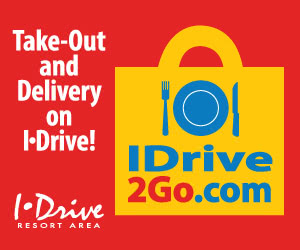 Take-out and delivery on I-Drive!