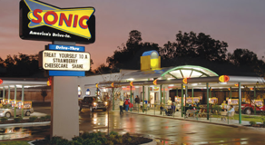 Happy Hour at Sonic Drive In